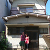 "Ritsuko and I outside the House where we now live. This was taken during our short visit to Japan, 2 months prior to our move here. We went and had a look at the house and our friend Taka came with us and took this photo of us outside the house. You can read more about our move to Japan in Ritsuko's latest book <A href=""http://au.blurb.com/bookstore/detail/3985157"">""It was Him""</A>."