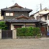 Traditional Japanese House.<br /> In Nagaokakyo, Kyoto-fu, Japan.