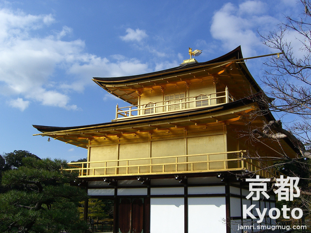 A Different Angle on Kinkaku-ji
